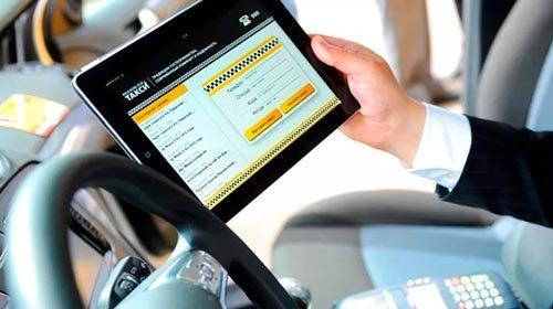 планшеты для такси
