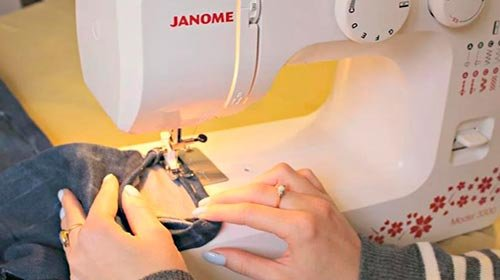 швейная машина дженом