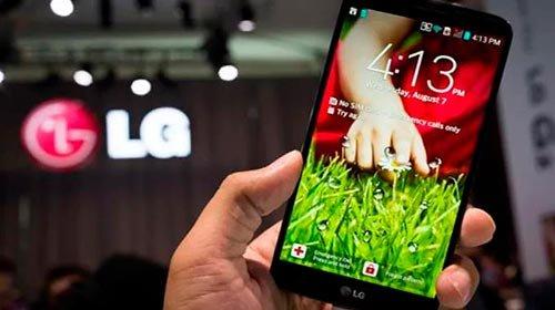 LG смартфон