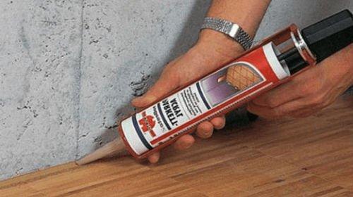 Виды герметиков для защиты швов при укладке ламината || Гель для герметизации стыков ламината