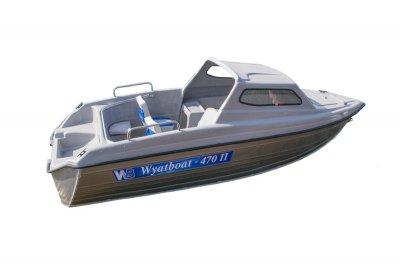 Легкая лодка из алюминия