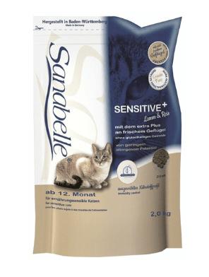 Лечебный корм чувствительное пищеварение кошки